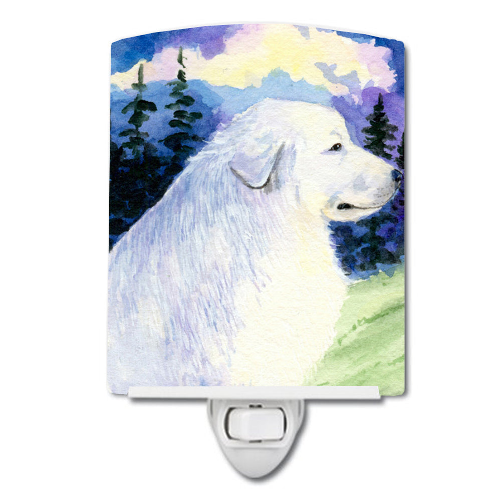 Buy this Great Pyrenees Ceramic Night Light SS8980CNL