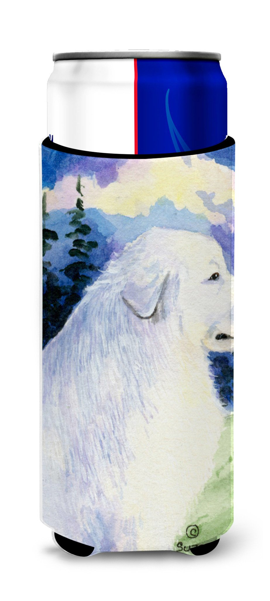 Great Pyrenees Ultra Beverage Insulators for slim cans SS8980MUK by Caroline's Treasures