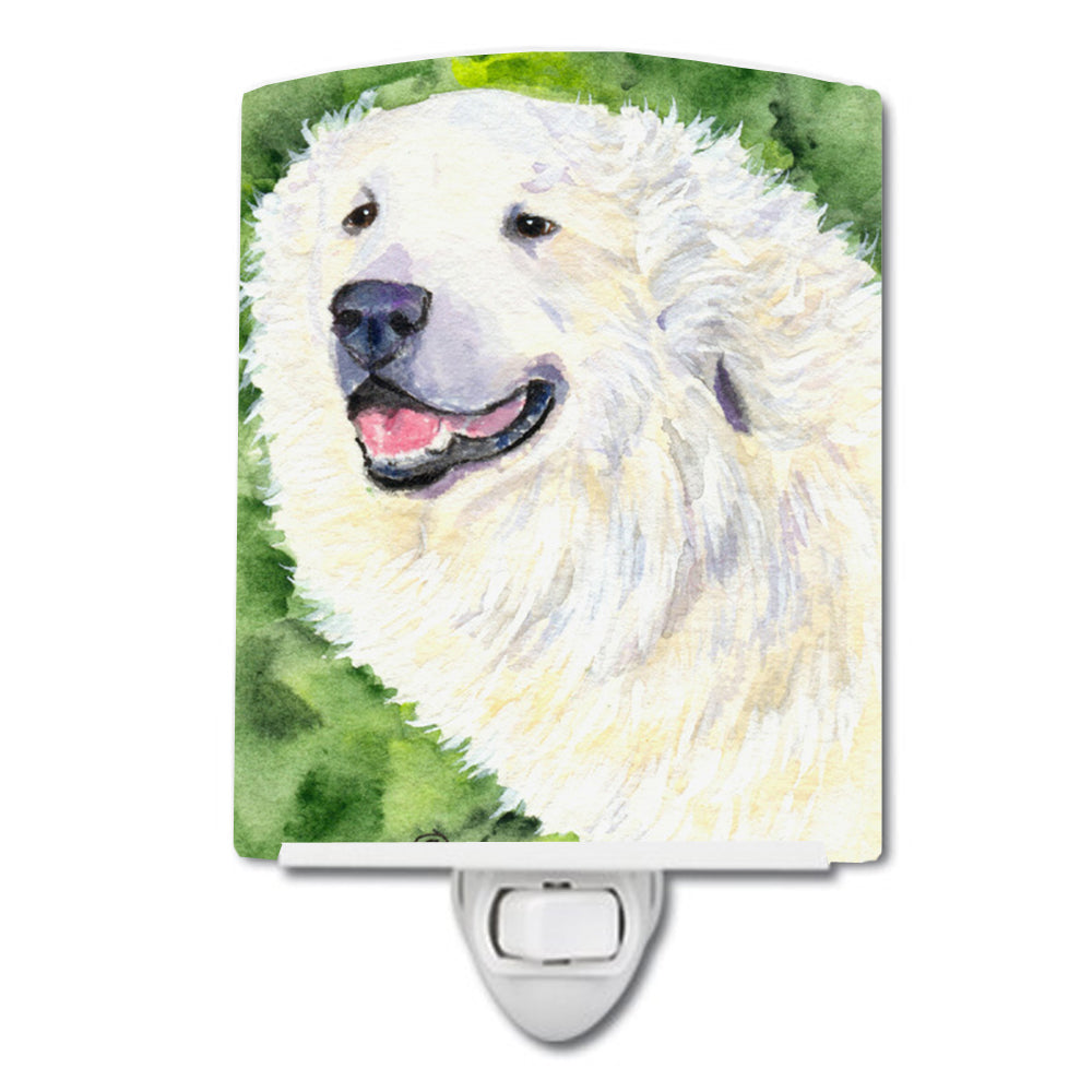 Buy this Great Pyrenees Ceramic Night Light SS8981CNL