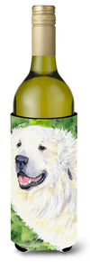 Great Pyrenees Wine Bottle Beverage Insulator Beverage Insulator Hugger SS8981LITERK by Caroline's Treasures