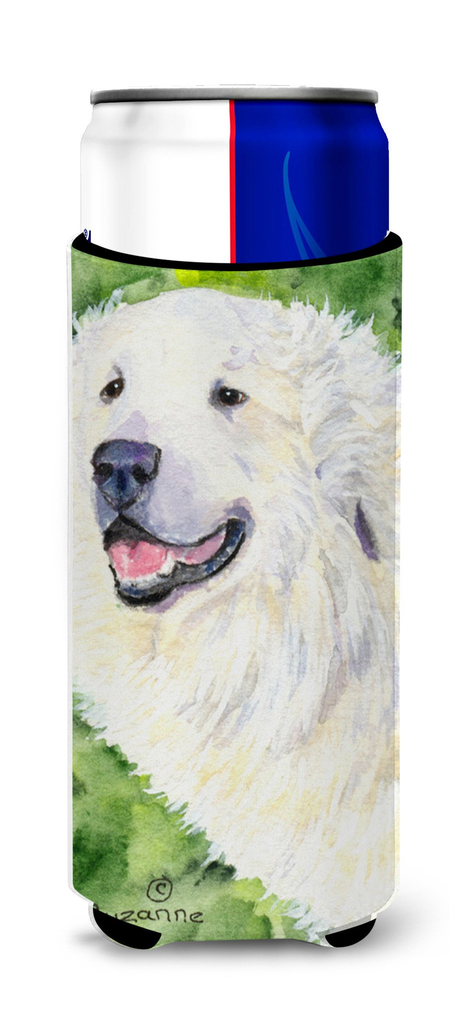 Great Pyrenees Ultra Beverage Insulators for slim cans SS8981MUK by Caroline's Treasures