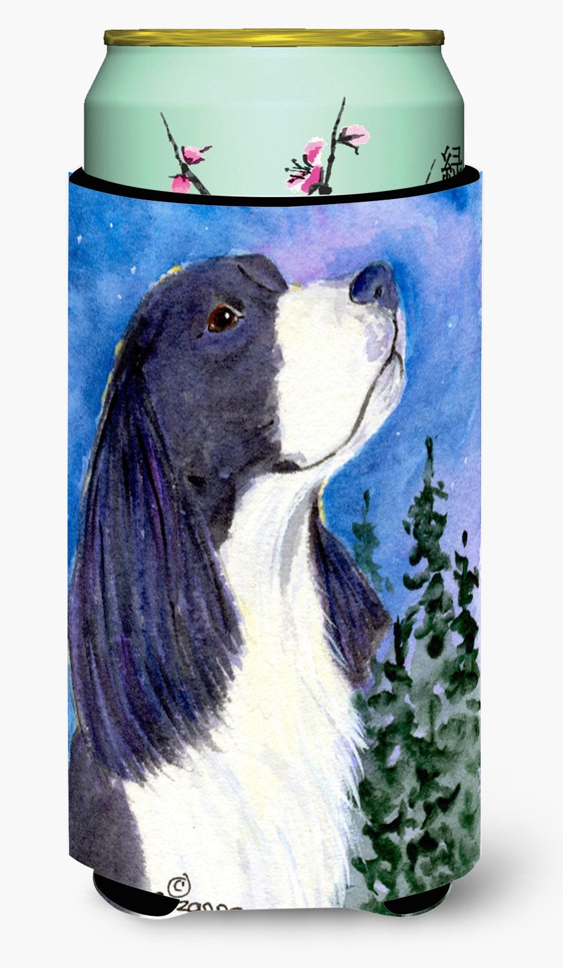 English Springer Spaniel  Tall Boy Beverage Insulator Beverage Insulator Hugger by Caroline's Treasures