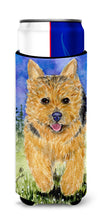 Norwich Terrier Ultra Beverage Insulators for slim cans SS8993MUK by Caroline's Treasures