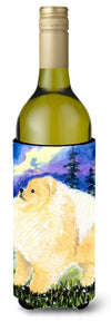 Buy this Pomeranian Wine Bottle Beverage Insulator Beverage Insulator Hugger SS8998LITERK