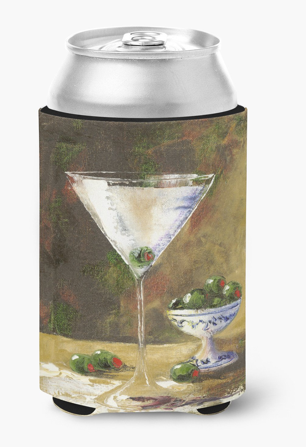Olive Martini by Malenda Trick Can or Bottle Hugger TMTR0033CC by Caroline's Treasures