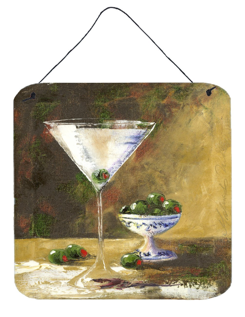 Olive Martini by Malenda Trick Wall or Door Hanging Prints TMTR0033DS66 by Caroline's Treasures