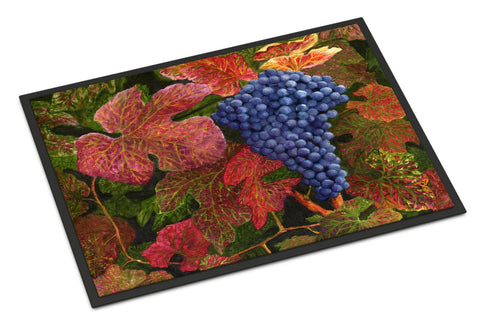 Buy this Grapes Of Joy by Malenda Trick Indoor or Outdoor Mat 18x27 TMTR0151MAT