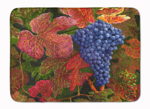 Buy this Grapes Of Joy by Malenda Trick Machine Washable Memory Foam Mat TMTR0151RUG