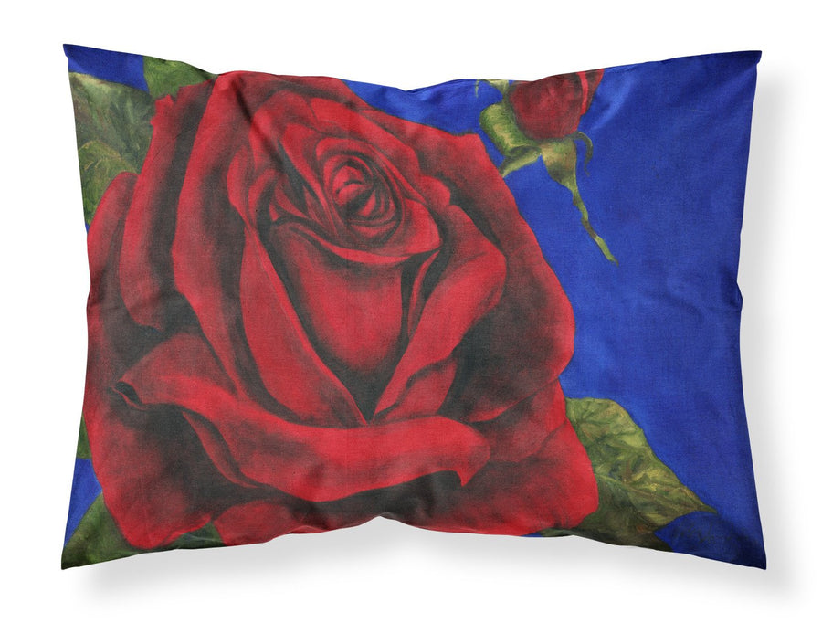 Buy this Rose by Malenda Trick Fabric Standard Pillowcase TMTR0226PILLOWCASE