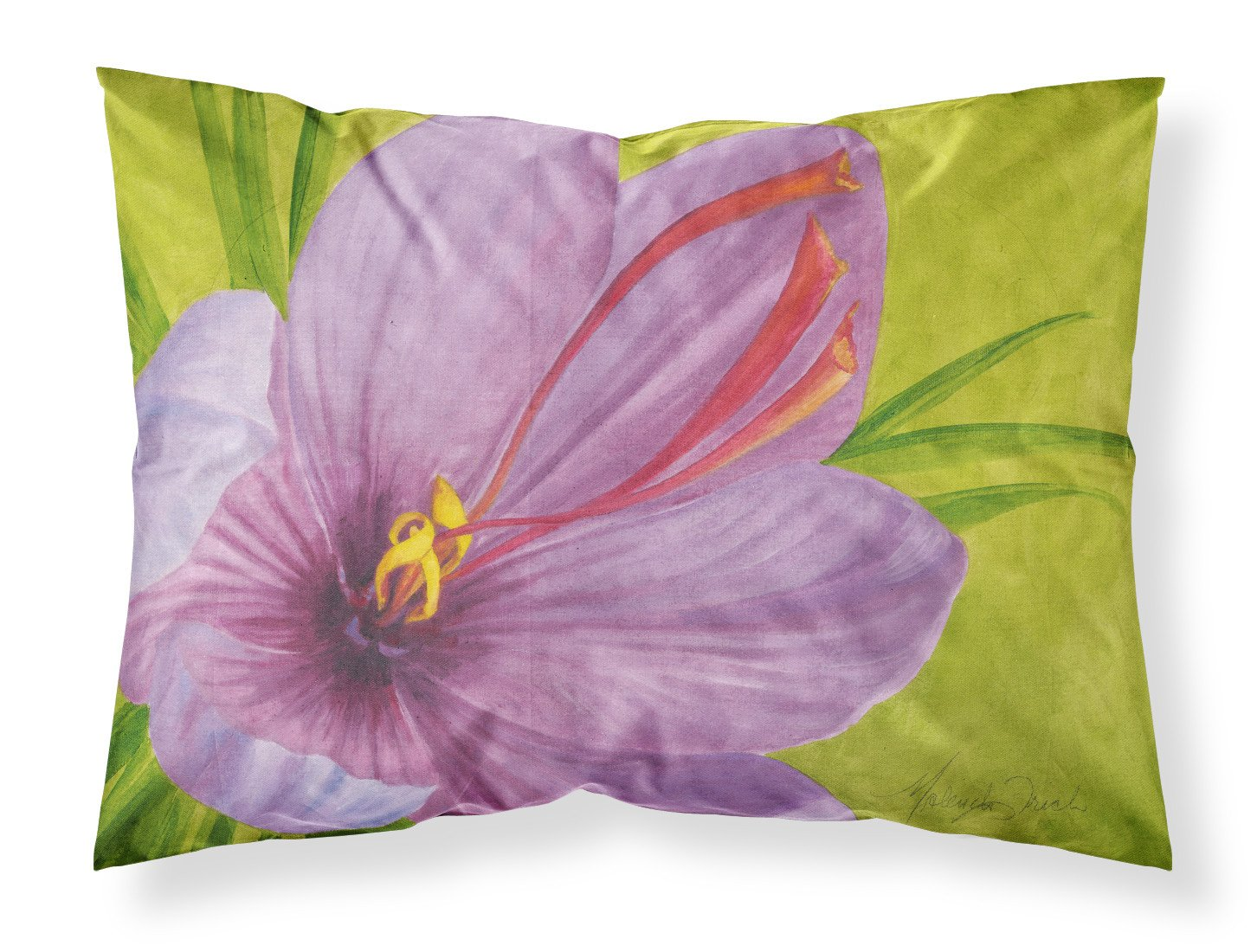 Floral by Malenda Trick Fabric Standard Pillowcase TMTR0227PILLOWCASE by Caroline's Treasures