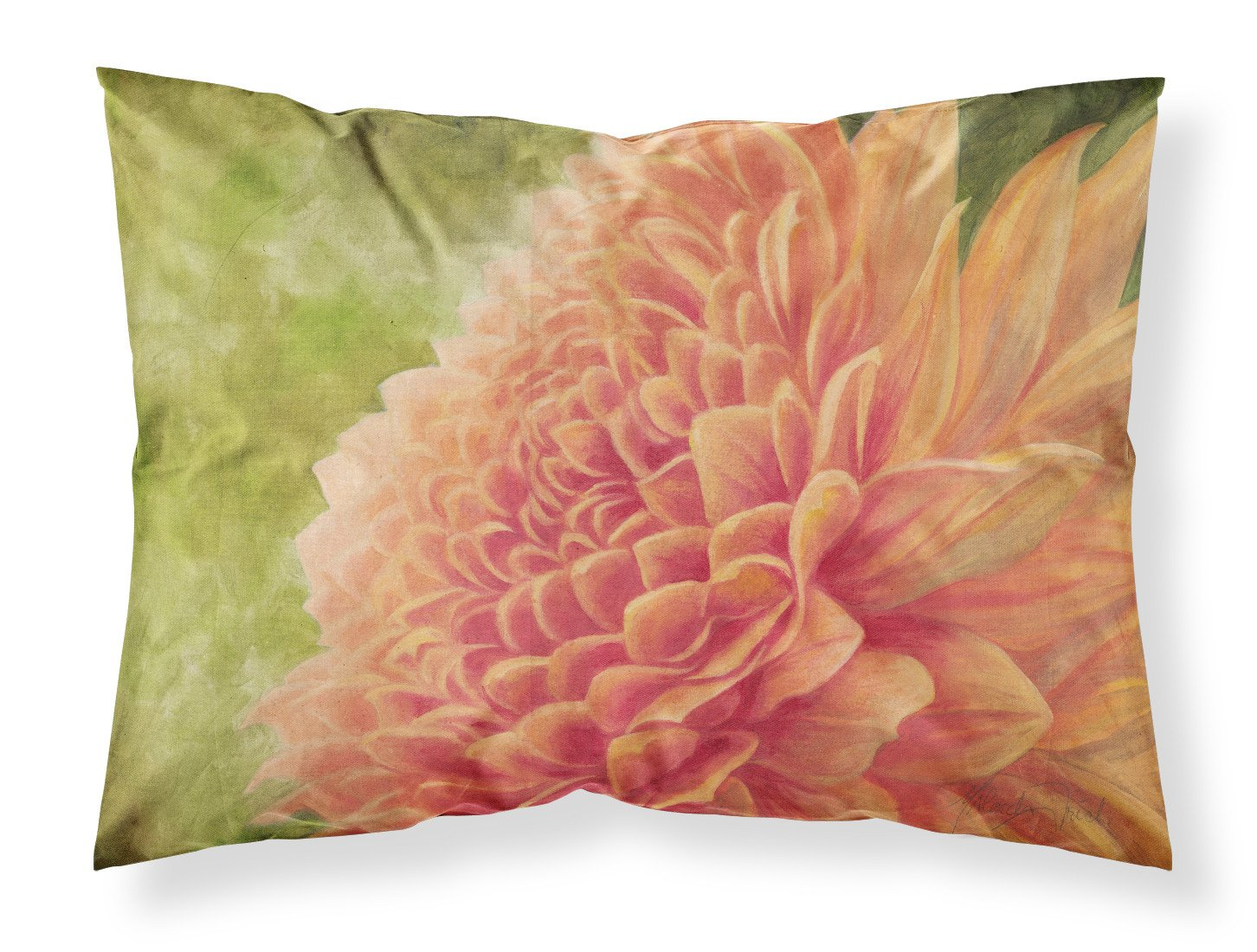 Floral by Malenda Trick Fabric Standard Pillowcase TMTR0232PILLOWCASE by Caroline's Treasures