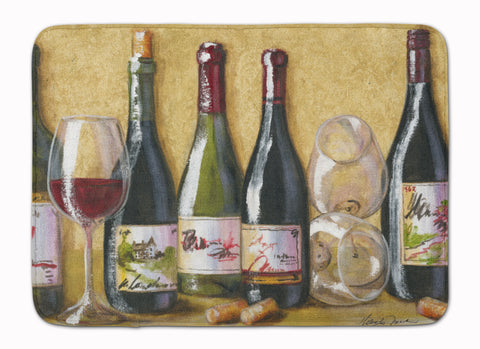 Buy this Wine Du Vin by Malenda Trick Machine Washable Memory Foam Mat TMTR0271RUG