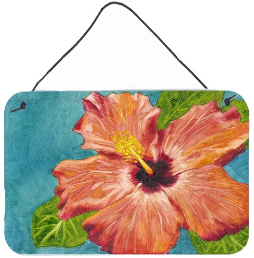 Buy this Coral Hibiscus by Malenda Trick Wall or Door Hanging Prints