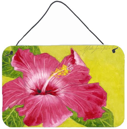 Buy this Hot Pink Hibiscus by Malenda Trick Wall or Door Hanging Prints