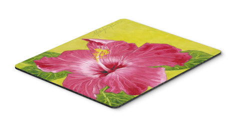 Buy this Hot Pink Hibiscus by Malenda Trick Mouse Pad, Hot Pad or Trivet TMTR0317MP