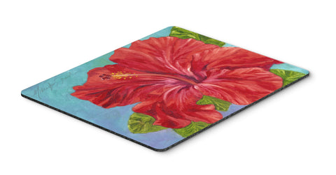 Buy this Red Hibiscus by Malenda Trick Mouse Pad, Hot Pad or Trivet TMTR0319MP