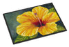 Yellow Hibiscus by Malenda Trick Indoor or Outdoor Mat 24x36 TMTR0321JMAT - the-store.com