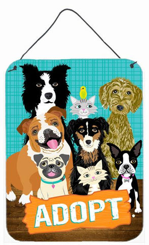 Buy this Adopt Pets Adoption Wall or Door Hanging Prints VHA3007DS1216