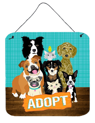 Buy this Adopt Pets Adoption Wall or Door Hanging Prints VHA3007DS66