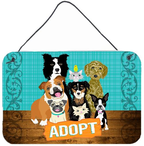 Buy this Adopt Pets Adoption Wall or Door Hanging Prints VHA3007DS812