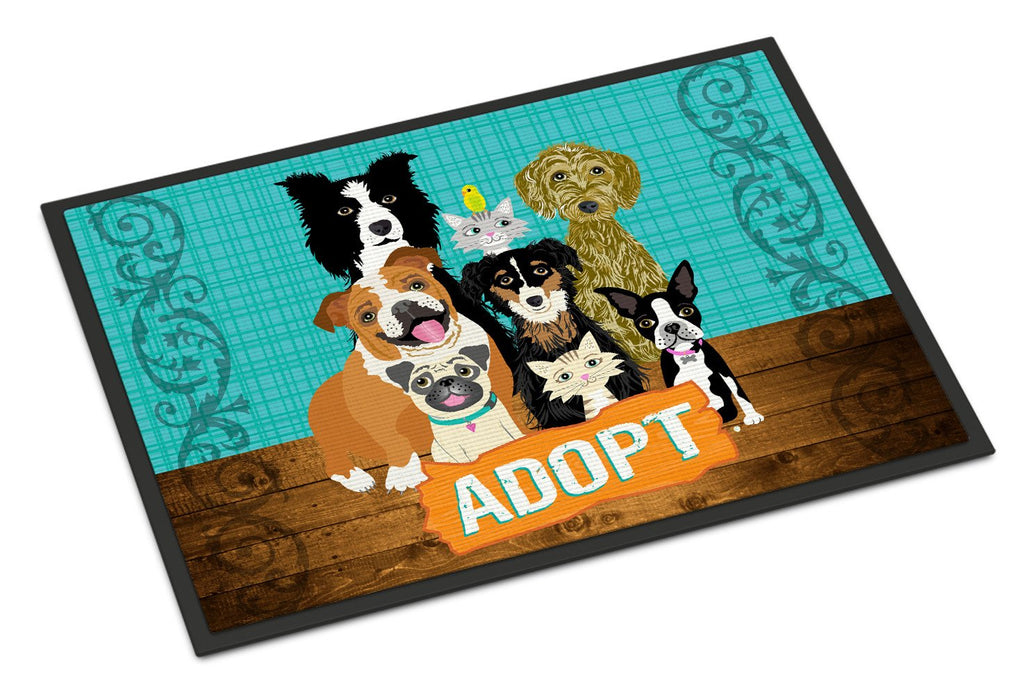 Buy this Adopt Pets Adoption Indoor or Outdoor Mat 24x36 VHA3007JMAT