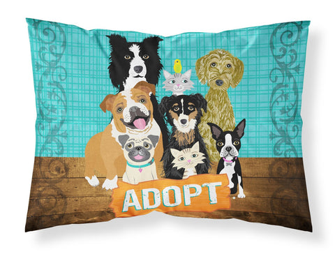 Buy this Adopt Pets Adoption Fabric Standard Pillowcase VHA3007PILLOWCASE