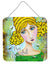 Bee Grateful Girl with Beehive Wall or Door Hanging Prints VHA3008DS66 by Caroline's Treasures