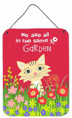 Buy this Garden Cat Wall or Door Hanging Prints VHA3009DS1216