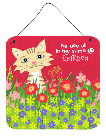 Buy this Garden Cat Wall or Door Hanging Prints VHA3009DS66