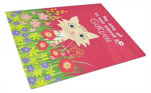 Buy this Garden Cat Glass Cutting Board Large VHA3009LCB