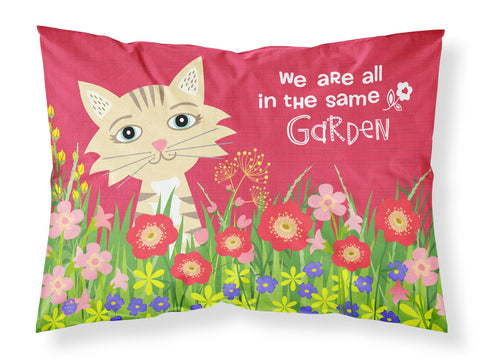 Buy this Garden Cat Fabric Standard Pillowcase VHA3009PILLOWCASE