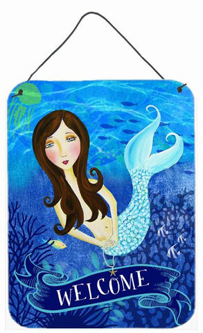Buy this Welcome Mermaid Wall or Door Hanging Prints VHA3010DS1216