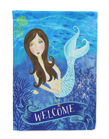 Buy this Welcome Mermaid Flag Garden Size VHA3010GF