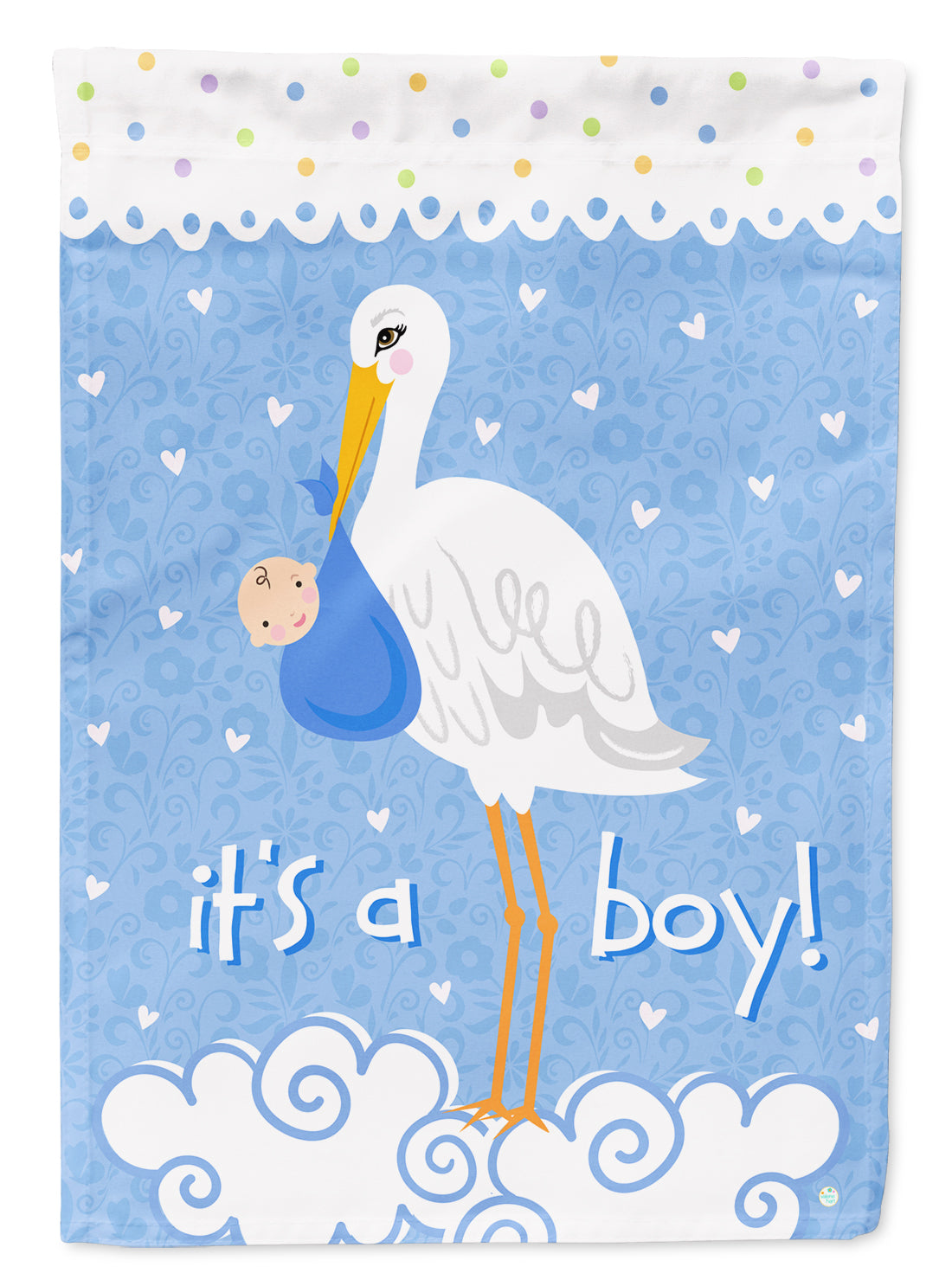 Buy this It's a Baby Boy Flag Canvas House Size VHA3012CHF