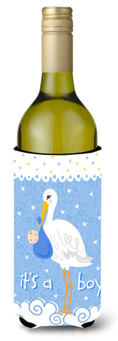 Buy this It's a Baby Boy Wine Bottle Beverage Insulator Hugger VHA3012LITERK