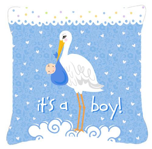 Buy this It's a Baby Boy Fabric Decorative Pillow