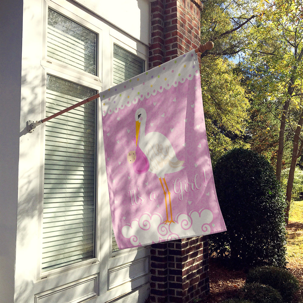 It's a Baby Girl Flag Canvas House Size VHA3013CHF by Caroline's Treasures
