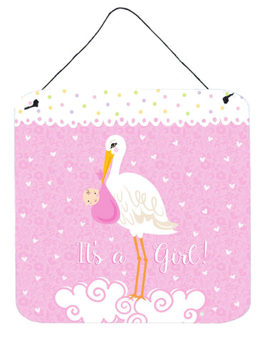 Buy this It's a Baby Girl Wall or Door Hanging Prints VHA3013DS66