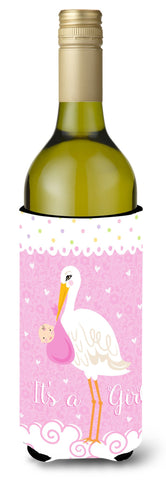 Buy this It's a Baby Girl Wine Bottle Beverage Insulator Hugger VHA3013LITERK