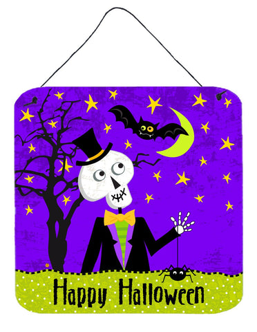 Buy this Happy Halloween Skeleton Wall or Door Hanging Prints VHA3014DS66