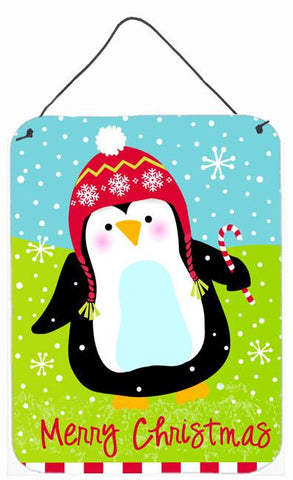 Buy this Merry Christmas Happy Penguin Wall or Door Hanging Prints VHA3015DS1216