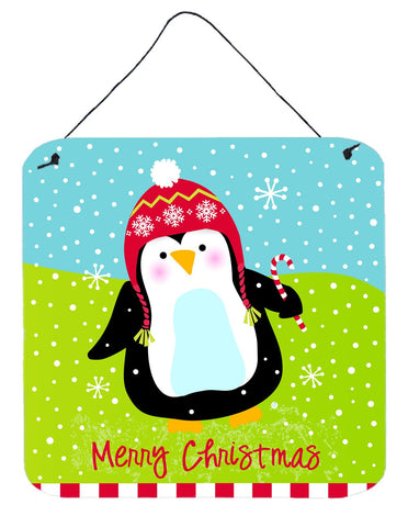 Buy this Merry Christmas Happy Penguin Wall or Door Hanging Prints VHA3015DS66