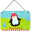 Buy this Merry Christmas Happy Penguin Wall or Door Hanging Prints VHA3015DS812