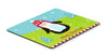 Merry Christmas Happy Penguin Mouse Pad, Hot Pad or Trivet VHA3015MP by Caroline's Treasures