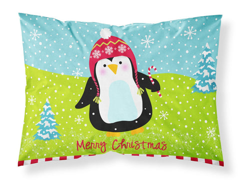 Buy this Merry Christmas Happy Penguin Fabric Standard Pillowcase VHA3015PILLOWCASE