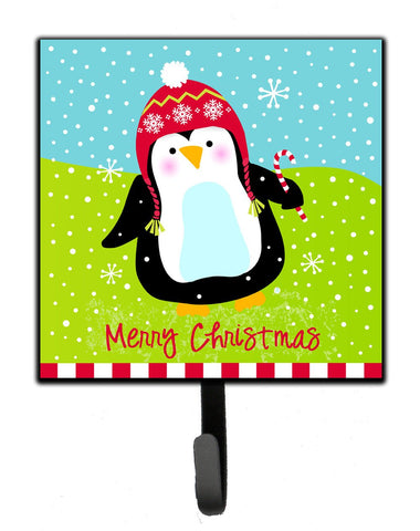 Buy this Merry Christmas Happy Penguin Leash or Key Holder VHA3015SH4