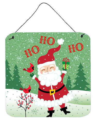 Buy this Merry Christmas Santa Claus Ho Ho Ho Wall or Door Hanging Prints VHA3016DS66