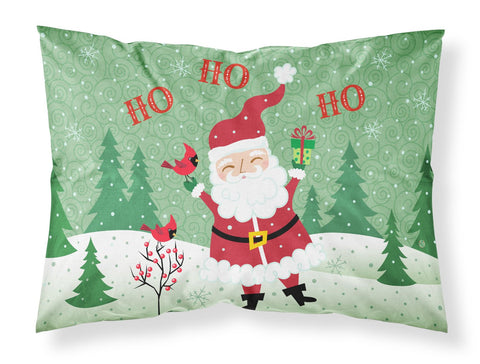 Buy this Merry Christmas Santa Claus Ho Ho Ho Fabric Standard Pillowcase VHA3016PILLOWCASE