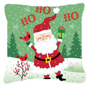 Buy this Merry Christmas Santa Claus Ho Ho Ho Fabric Decorative Pillow
