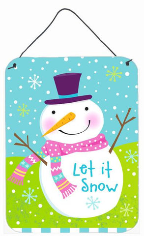 Buy this Christmas Snowman Let it Snow Wall or Door Hanging Prints VHA3017DS1216